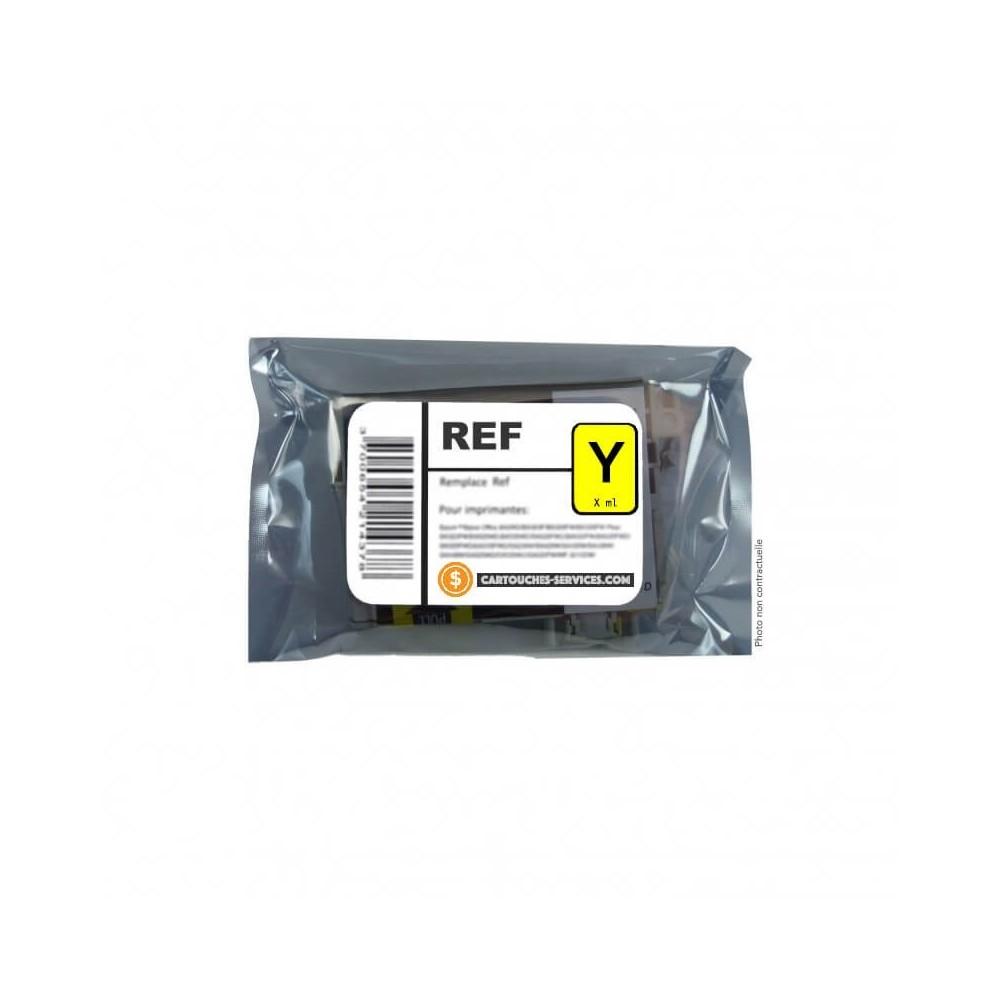 """EPSON-Cartouches REMANUFACTUREE-T0714-CARTOUCHE """"GUÉPARD"""" - ENCRE Yellow (Jaune)"""