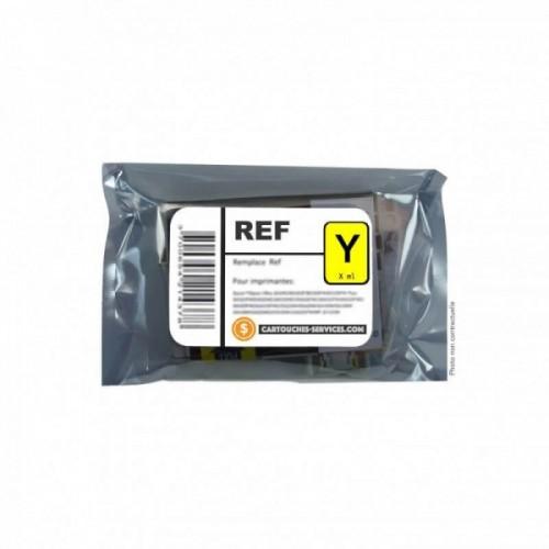 Cartouche recyclée Epson T2434 ELEPHANT - Jaune - Jet d'encre