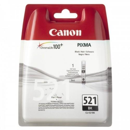 Canon CLI-521BK - Cartouche...