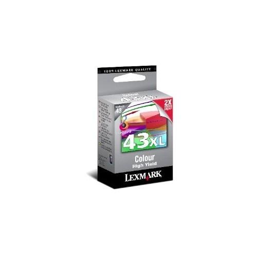 LEXMARK 43 XL COLOR...