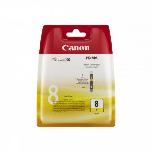 CANON N°8 - CLI 8Y YELLOW...