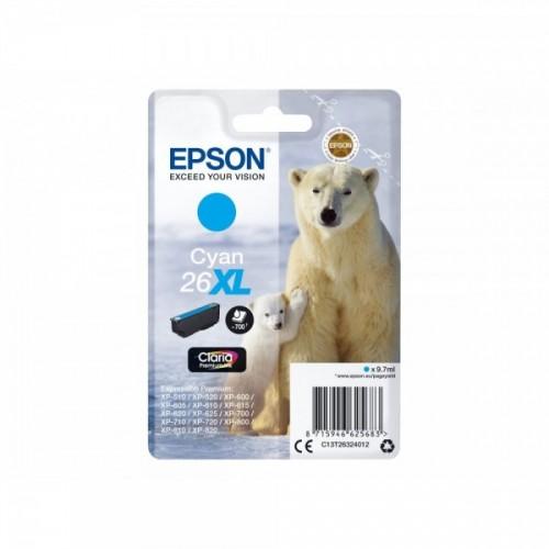 EPSON T26 - T2632 XL CYAN...