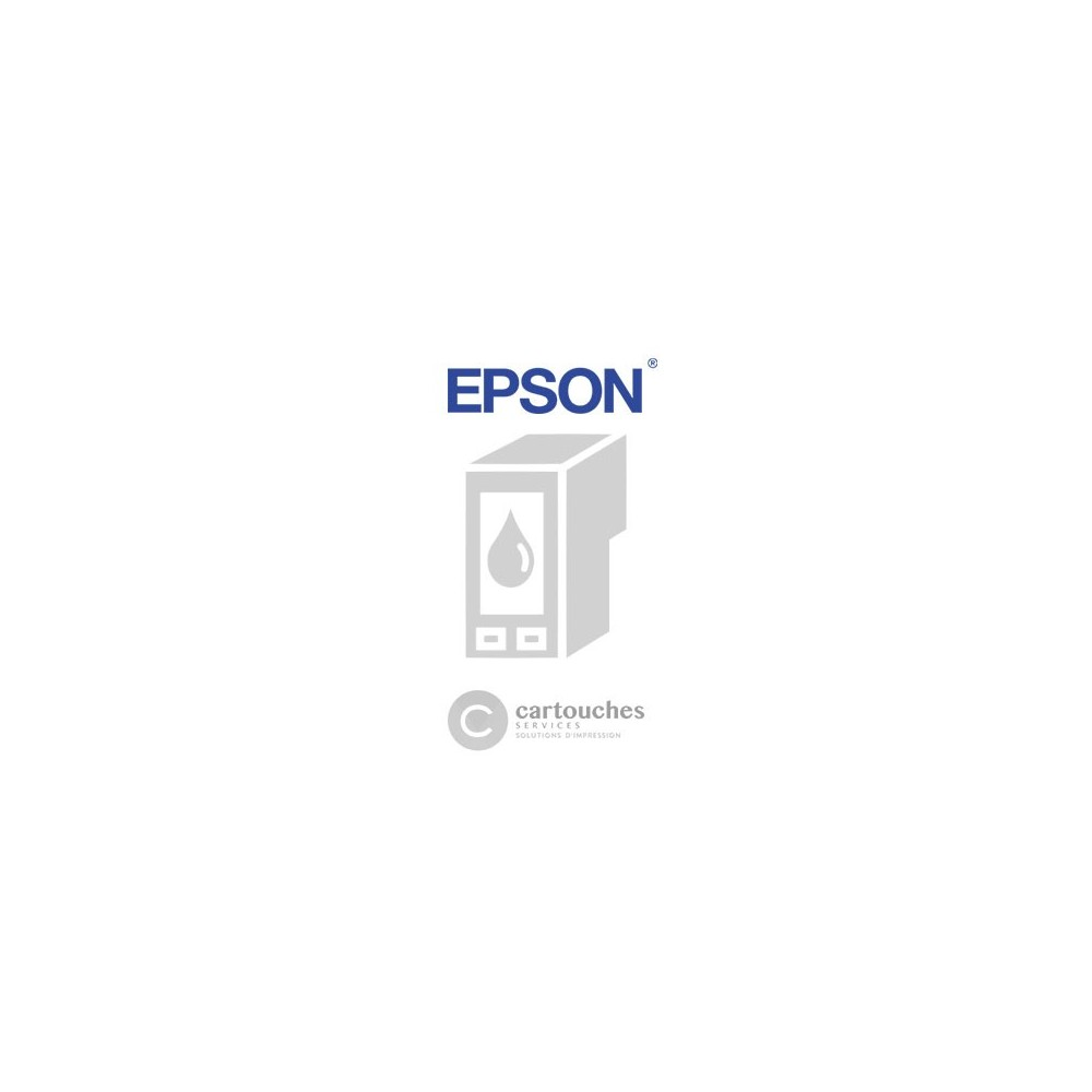 Cartouche pas chère compatible Epson T0611 - NOUNOURS - Noir - Jet d'encre
