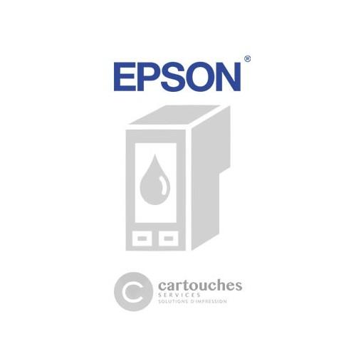 Cartouche pas chère compatible Epson T0614 - NOUNOURS - Jaune - Jet d'encre