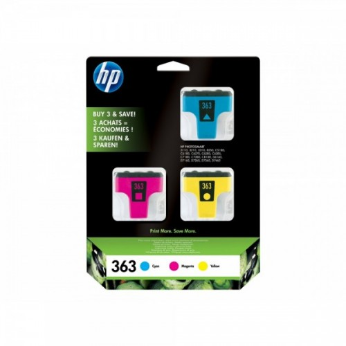 HP 363 PACK 3 COULEURS...