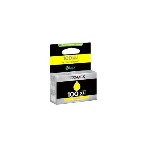 LEXMARK 100 XL YELLOW...