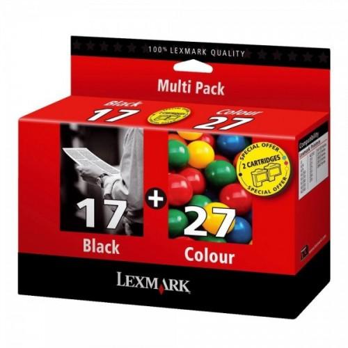 LEXMARK MULTIPACK 17+27...