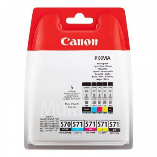 CANON N°570-571 MULTIPACK...