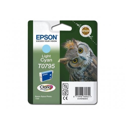 EPSON T0795 LIGHT CYAN -...