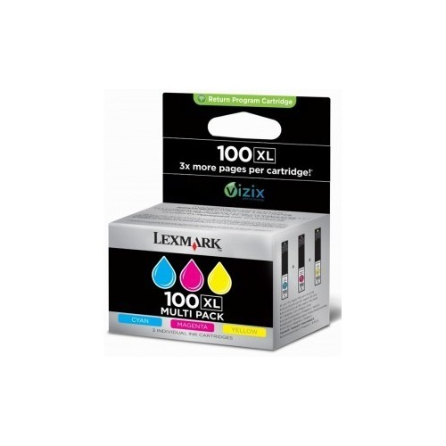 LEXMARK 100 XL MULTIPACK...
